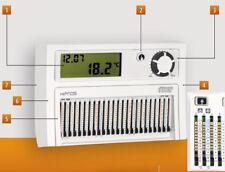 VEMER Cronotermostato  cursori HIPNOS parete  batterie VE013900 TIPO BPT TH 124.