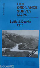 Old Ordnance Survey Map Settle & District & Map Hellifield Village 1911 Sheet 60