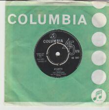 "Shadows ""Atlantis/I Want You To Want Me"" Columbia 1963 7"""