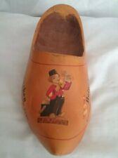 Heineken Beer Wooden Shoe Clog Advertising Vintage Promotional Imported Holland