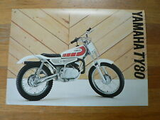 YAMAHA BROCHURE TY80 TY 80 PROSPEKT FOLDER MOTORRAD BIKE 1978 ?