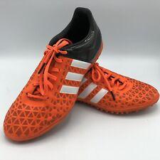 Adidas Men's S83222 ACE 15.3 TF Turf Soccer Shoes Orange/Black Size US 7