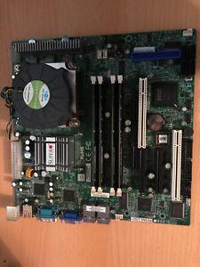 SUPERMICRO PDSML-LN2 ATX Motherboard / 4 Core Intel Xeon CPU / 8GB RAM BUNDLE