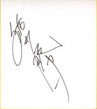 Sho Funaki Signed Shikishi Bas Beckett Coa Wwe Kai En Tai Wrestling Autograph #1