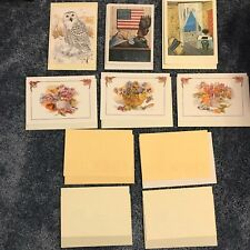 10 Cards with Envelopes Blank inside for any message Some cards are the same