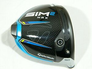 2021 Taylormade Sim2 Max 9* Driver Head Only - Sim 2 Max + Headcover