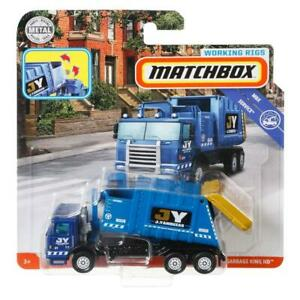 Matchbox Real Working Rigs Garbage King HD Refuge Truck