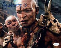 BILL NIGHY Signed 8x10 Photo JACK THE GIANT SLAYER Fallon Autograph JSA COA Cert