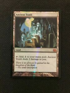 Ancient Tomb foil - ENG - NM - From the Vault: Realms