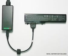 External Laptop Battery Charger for HP Pavilion DV3000 series 468816-x, 496119-x