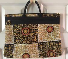 Versace  Baroque tote bag canvas 15 x 12""