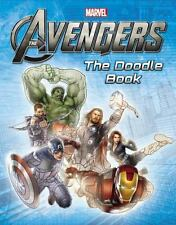 Marvel's Avengers - The Doodle Book Paperback  maze puzzles activities NEW