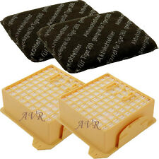 2 x Hepa Filter Set Mikrofilter Kohlefilter passend für Vorwerk Tiger 260