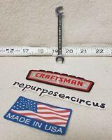 """Vintage Craftsman USA -V- Series 9/32"""" Open End Offset Midget Ignition Wrench"""