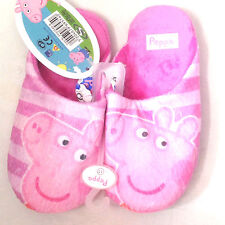 PEPPA PIG  GIRLS OFFICIAL CARTOON CHARACTER NOVELTY SLIPPERS KIDS UK SIZE 8-13