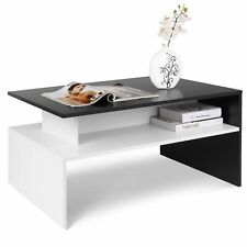 Tavolino da Salotto Soggiorno tavolo per Caffè tè design moderno 90×54×42CM