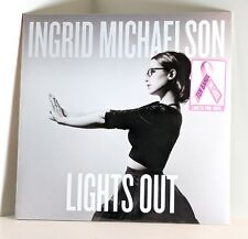 INGRID MICHAELSON Lights Out PINK COLOR VINYL 2xLP Limited Edition