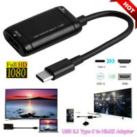 USB-C Type C to HDMI Converter Cable USB3.1 MHL-Adapter For Android Phone Tablet