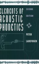 Elements of Acoustic Phonetics 9780226467641, Paperback, BRAND NEW FREE P&H