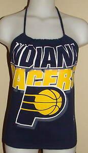 Womens Indiana Pacers NBA Basketball Shirt Halter Top DiY