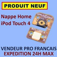 ✖ NAPPE BOUTON HOME IPOD TOUCH 4 4G FLEX CABLE ✖ NEUF GARANTI EXPÉDITION 24H ✖