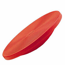 Therapiekreisel Original Gym-Top, Balanceboard, Ø 40 cm, Höhe 9 cm, rot.