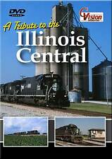 A Tribute to the Illinois Central Railroad DVD NEW CN WC GB&W IC train video