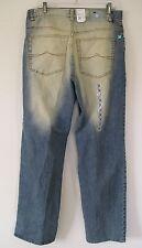 RARE NWT~AZZURE METRO ESKIMO BOOT CUT Jeans BAGGY FIT Faded Denim Pant~Men sz 36