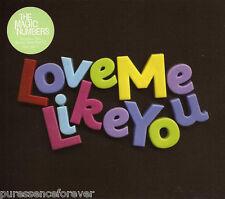 THE MAGIC NUMBERS - Love Me Like You (UK 3 Tk CD Single Pt 2)
