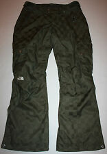NWOT Womens The North Face HyVent Green Ski / Snow Pants Size M