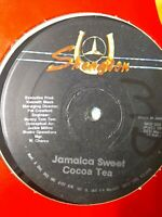 "Cocoa Tea-Jamaica Sweet 12"" Vinyl Single 1986 REGGAE DANCEHALL"