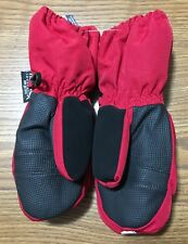 Faded Glory Thinsulate Red Youth Winter Mittens 40 gram