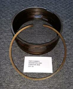 R-1300, R-1820, R-2600, R-3350 Piston Ring 68498Y2 +.004  Qty: 25