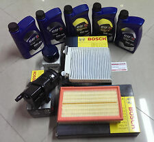 KIT TAGLIANDO 4 FILTRI BOSCH + 5 LITRI OLIO ELF  RENAULT CLIO 1.5 DCi 2005-2011