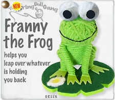 Kamibashi Franny the Frog The Original String Doll Gang Keychain Clip