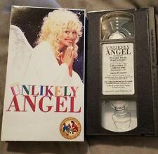 Unlikely Angel (1996) - VHS Tape - Comedy / Fantasy -Dolly Parton-Roddy McDowall