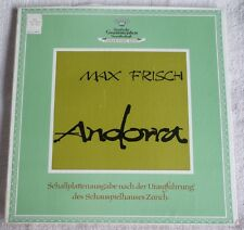 Max Frisch - Andorra - DGG Literary Archive - Zurich Theater Production
