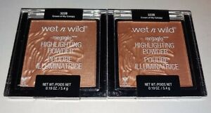 2 Wet N Wild Megaglo Highlighting Powders- Crown of My Canopy 322B