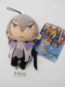 "Sengoku Basara A1610 SEGA Strap mascot 4.5"" Plush Stuffed Toy Doll japan"