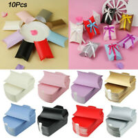 10pcs Gift Box Wedding Party Favour Kraft Paper Candy Boxes Supplies 9*6.5*2.4cm