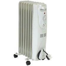 Appareils de chauffage d'appoint à bain d'huile blancs avec thermostat