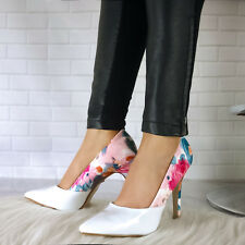 Synthetic Leather Formal Multi-Coloured Heels for Women