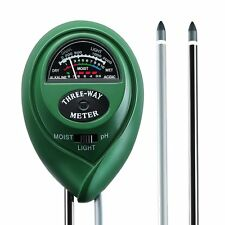 3-in-1 Soil Light Tester Testing Moisture intensity PH Range New For Grass Tree