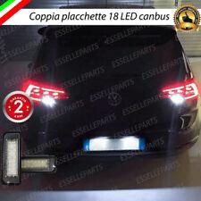 COPPIA LUCI TARGA LED PLACCHETTE COMPLETE CANBUS VOLKSWAGEN GOLF 7 VII 6000K
