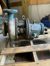 POWER D GOULDS 2X3X8 STAINLESS PUMP USED