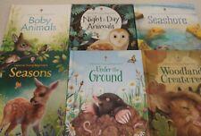 Usborne Young Beginners 6 book bundle, Readers Grades K-3; Set of 6 NEW TITLES