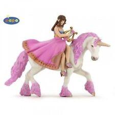 Spielfigur Papo Märchen+Sagen 39057 Prinzessin mit Lyra auf Pferd / Einhorn NEU