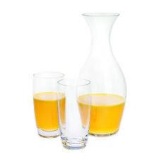 Dartington CRISTAL - Ralladura de colección GARRAFA y dos vasos Highball Juego