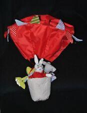 Peluche doudou montgolfière rouge IKEA grenouille lapin âne 50 cm TTBE