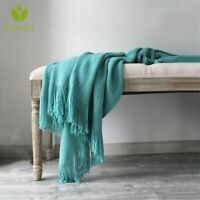 Nordic Cashmere Blanket Super Soft Winter Bed Bedding Warm Soft Quilt Cotton